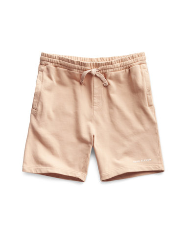 Lifestyle Sweat Short - Peach