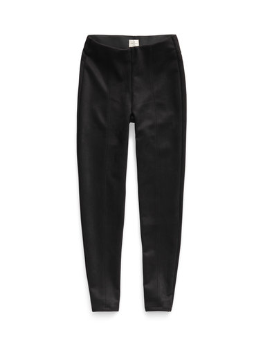 Suedine Pants - Black