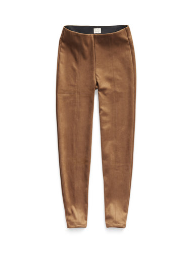 Suedine Pants - Brown