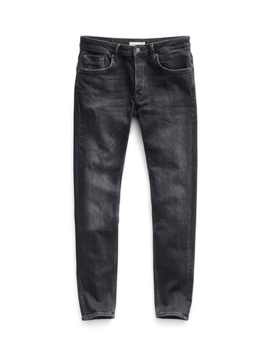 Beach Tapered Jeans - Washed Grey