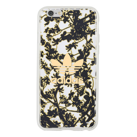 Adidas CLEAR BK FLOWER COVER IPHONE 6S/6