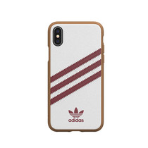 ADIDAS MOULDED IPHONE XS/X WH/BUR
