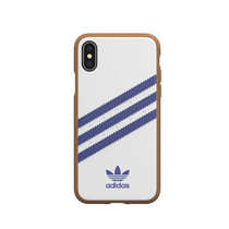 ADIDAS MOULDED IPHONE XS/X WH/NAVY