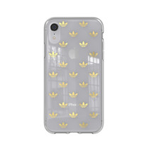 CLEAR COVER ADIDAS IPHONE XR GOLD