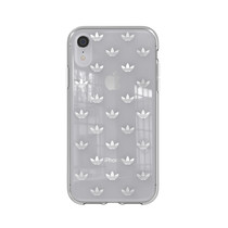 CLEAR COVER ADIDAS IPHONE XR SILVER
