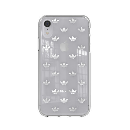 Adidas CLEAR COVER ADIDAS IPHONE XR SILVER