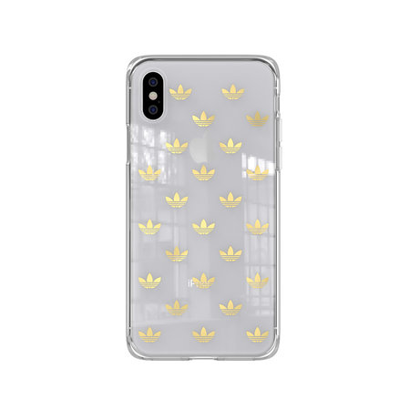 Adidas CLEAR COVER ADIDAS IPHONE XS/X GOLD