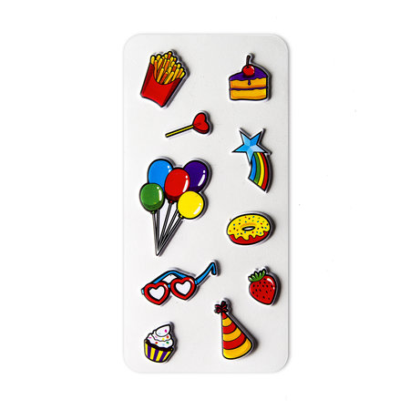 Celly 3D STICKERS TEEN PARTY