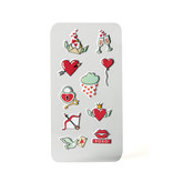 Celly 3D STICKERS TEEN HEARTS