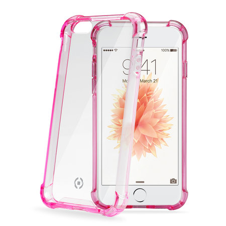 Celly ARMOR COVER IPHONE SE PINK