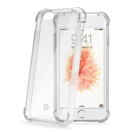 Celly ARMOR COVER IPHONE SE TRANSP