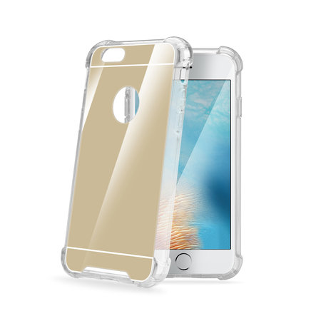 Celly ARMOR MIRROR COVER IPHONE 7/8 GOLD