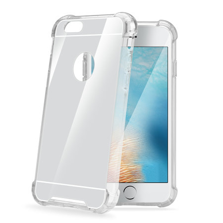 Celly ARMOR COVER IP 7/8 PLUS MIRROR SV