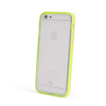 Celly BUMPER COVER FLUO IPHONE 6/6S YELLW