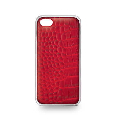 Celly CROCODILE COVER IPHONE 6/6S RED