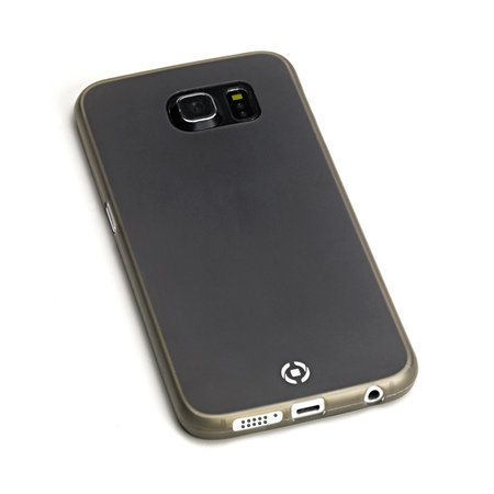 Celly FROST COVER FOR S6 EDGE BK