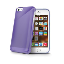 TPU COVER IPHONE 5/5S/SE VIOLET