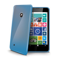 TPU COVER LUMIA 530 LIGHT BLUE