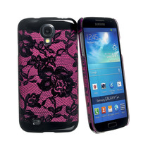 LACES COVER FUCSIA GALAXY S4