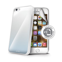 SUNNY+SCREEN COVER IPHONE5/5S/SE WH
