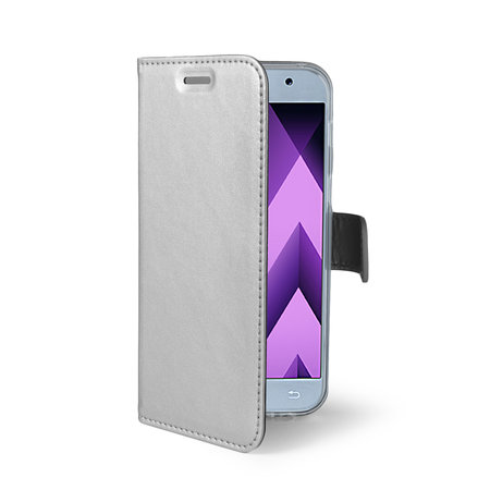 Celly AIR CASE GALAXY A3 2017 SILVER
