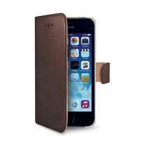 WALLY CASE IPHONE SE/5S/5 BROWN
