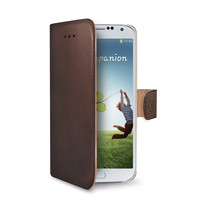 WALLY CASE GALAXY S4 BROWN