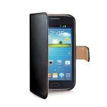WALLY CASE GALAXY ACE 3 BLACK