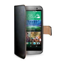 WALLY CASE HTC ONE M8 BLACK