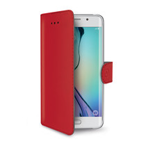 WALLY CASE GALAXY S6 EDGE RED