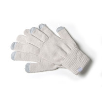 TOUCH GLOVES WHITE