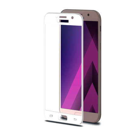 Celly 3D GLASS GALAXY A5 2017 WHITE