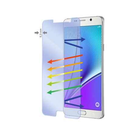 Celly GLASS ANTI-BLUE RAY GALAXY NOTE 5