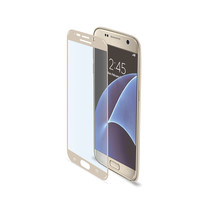 FULL CURVE GLASS GALAXY S7 GOLD