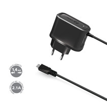 TRAVEL CHARGER 2.1A MICROUSB USB