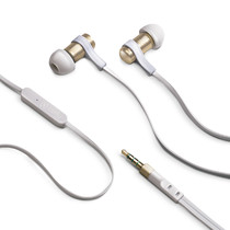 STEREO EARPHONES 3.5 MM GOLD