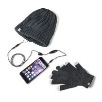 STEREO CAP GLOVES GREY