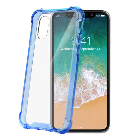 Celly ARMOR COVER IPHONE X/XS L.BLUE