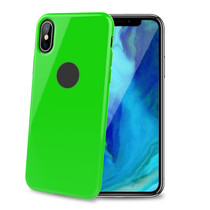TPU COVER IPHONE XS MAX LIME GREEN