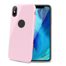 TPU COVER IPHONE XS MAX PINK