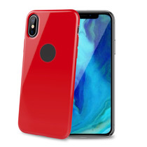TPU COVER IPHONE XS MAX RED