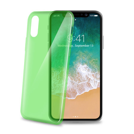 Celly COVER ULTRATHIN IPHONE X/XS GN