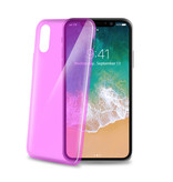 Celly COVER ULTRATHIN IPHONE X/XS PK