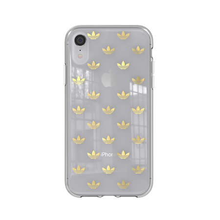 Adidas CLEAR COVER ADIDAS IPHONE XR GOLD