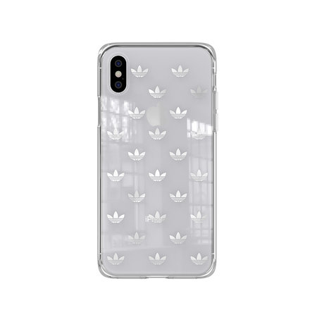 Adidas CLEAR COVER ADIDAS IPHONE XS/X SILV