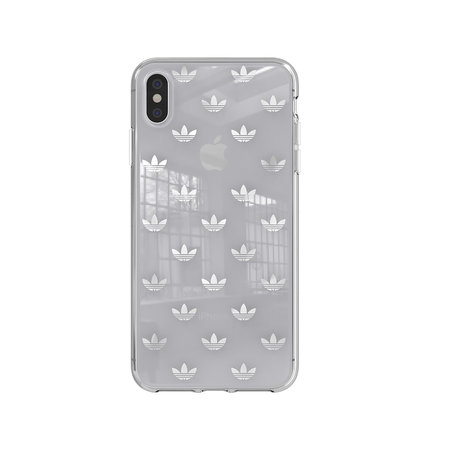 Adidas ADIDAS CLEAR COVER IP XS MAX SILVER