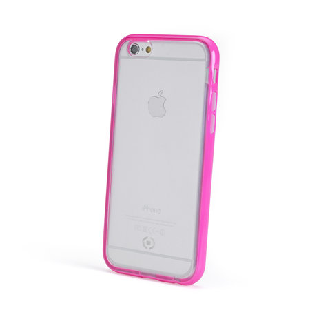 Celly BUMPER COVER FLUO IPHONE 6/6S PINK