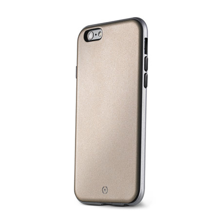 Celly BUMPER COVER IPHONE 6/6S GOLD