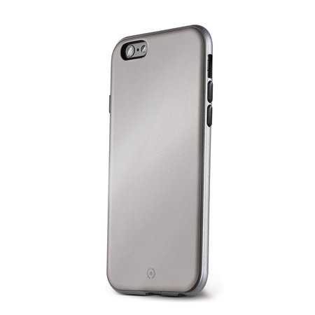 Celly BUMPER COVER IPHONE 6/6S SILVER