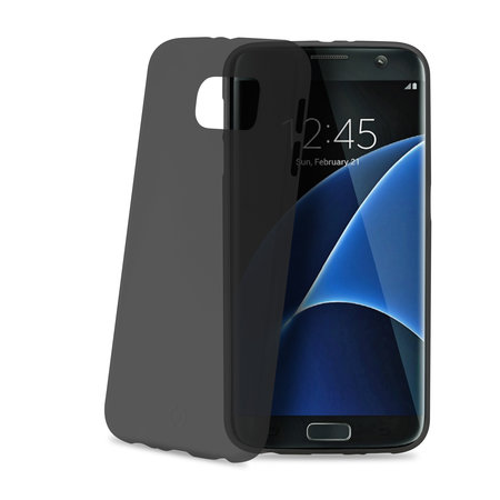 Celly FROST COVER FOR GAL. S7 EDGE BK